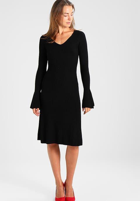 mbyM LULU Robe pull black ZALANDO.FR | Robe de travail