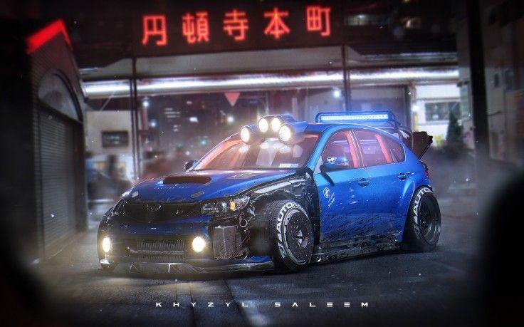 Khyzyl Saleem Car Subaru Impreza Hd Wallpaper Desktop Background