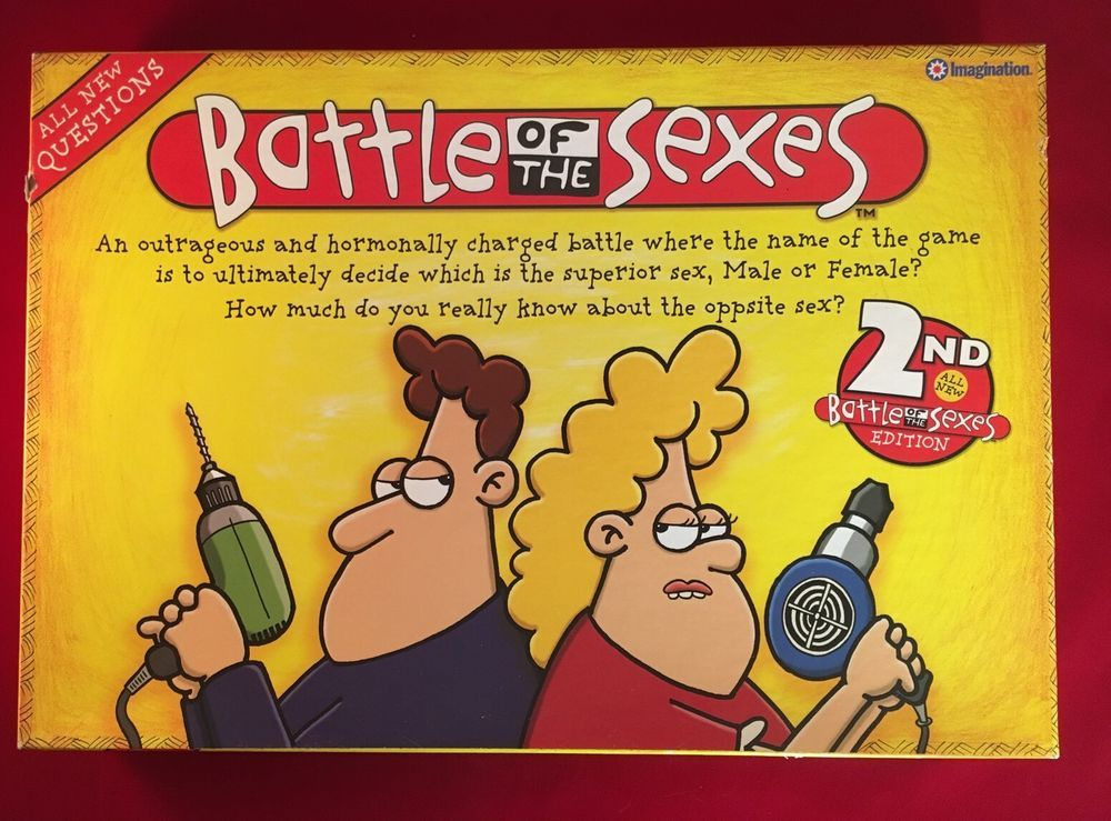 Battle Of The Sexes Board Game 2nd Edition Imagination With