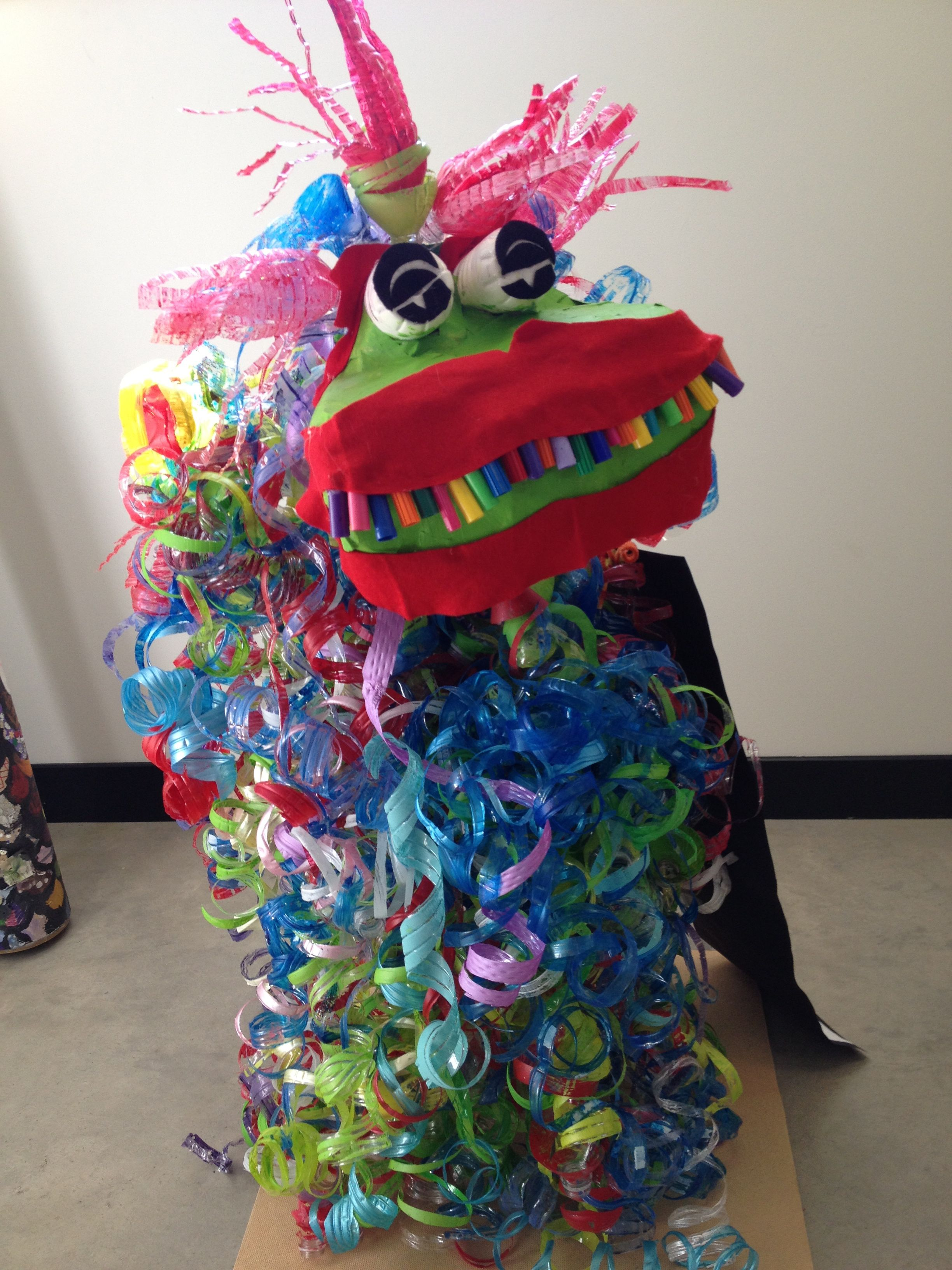Recycled Chinese Dragon Steam Actvities