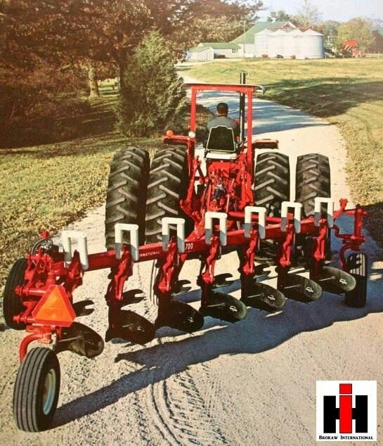 Ih 412 4 Bottom 2 Point Fast Hitch Plow International Harvester