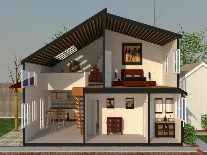 Section Render Home Renovation Software & Section Render Home Renovation Software | Design | Pinterest ...