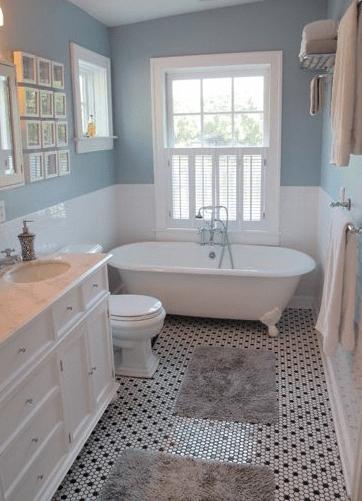 25 Ways to Stay Comfy on Your Limited Space Bathroom #bathroomdecorationideas #eweddingmag.com #HomeDecorationIdeas #HomeDesign #houzzbathroom