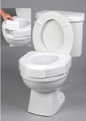 Outstanding Elevated Toilet Seat With Open Or Closed Front Option Does Ibusinesslaw Wood Chair Design Ideas Ibusinesslaworg