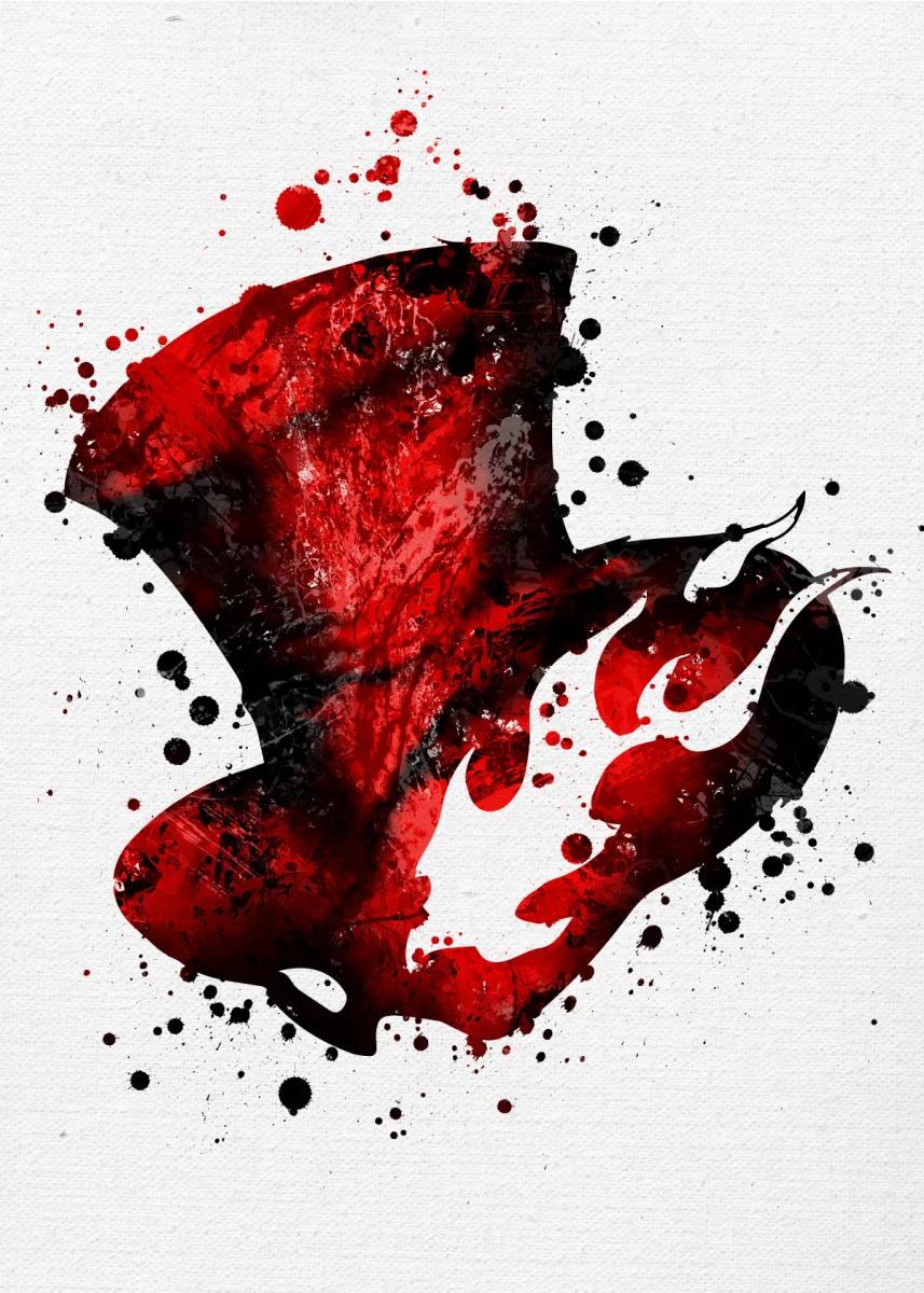 Persona 5 Phantom Thieves Gaming Poster Print Metal Posters Displate Persona 5 Persona Poster Prints