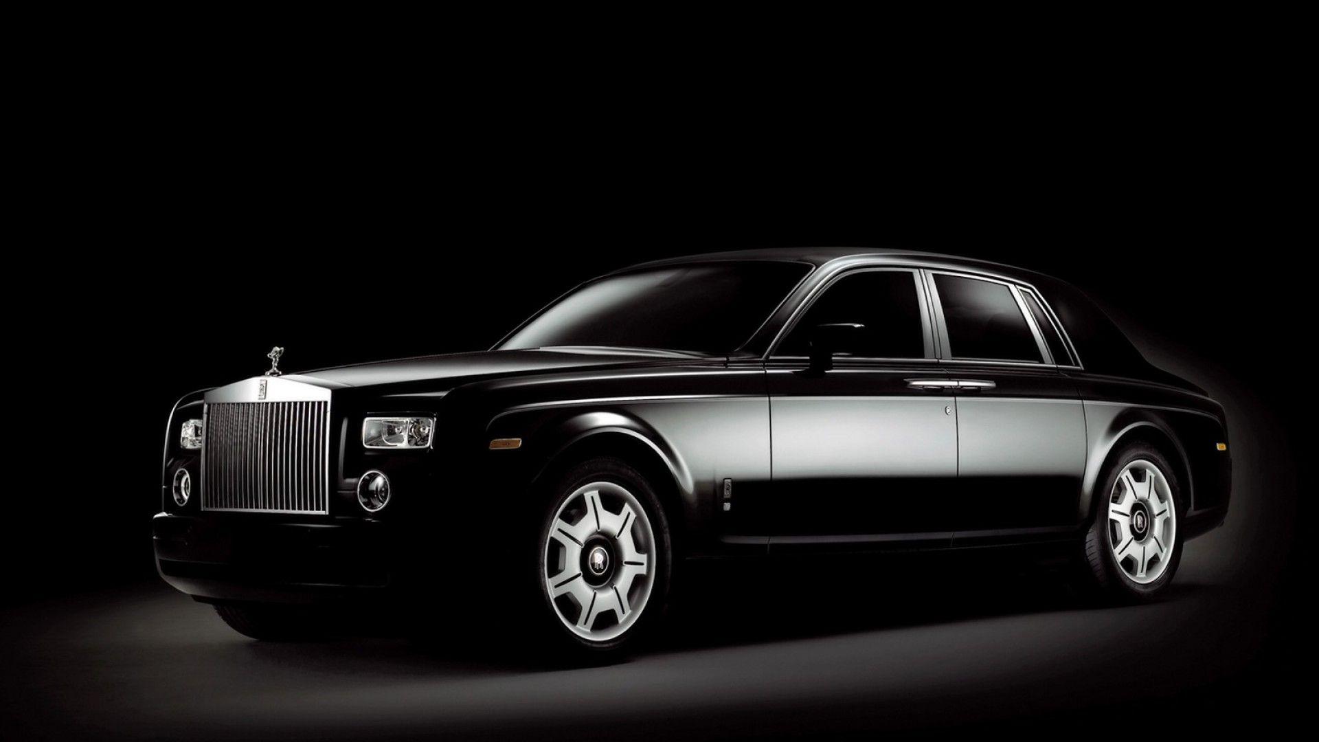 Rolls Royce Phantom Black Hd Wallpapers Cars Rolls Royce