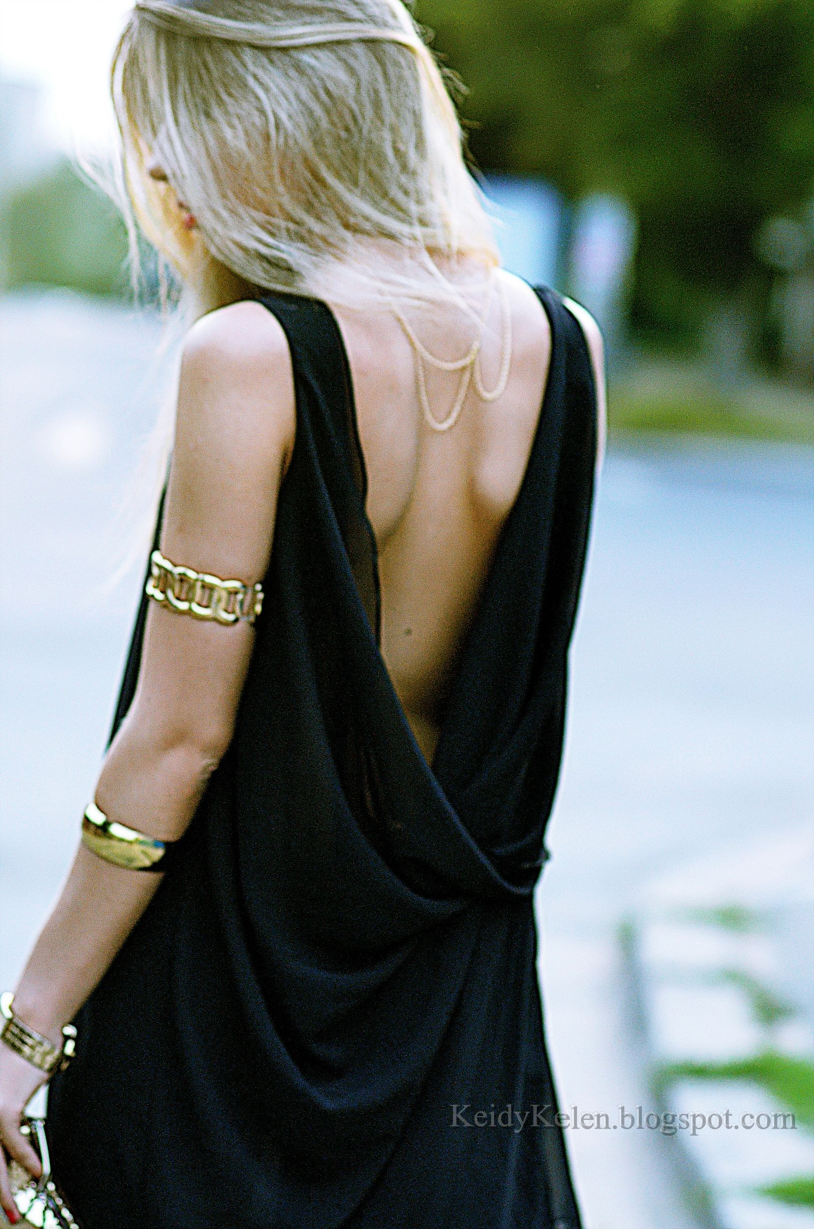 necklace pin lbd notice fashion gold the worn delicate stud back dress top scoop pinterest so cuffs and low in arm backless chic summer