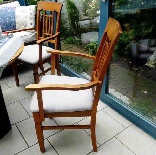 st hle neu beziehen eine kleine bastelanleitung pattensen wohnung. Black Bedroom Furniture Sets. Home Design Ideas