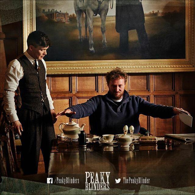 Behind The Scenes | Peaky Blinders | Cillian murphy peaky ...