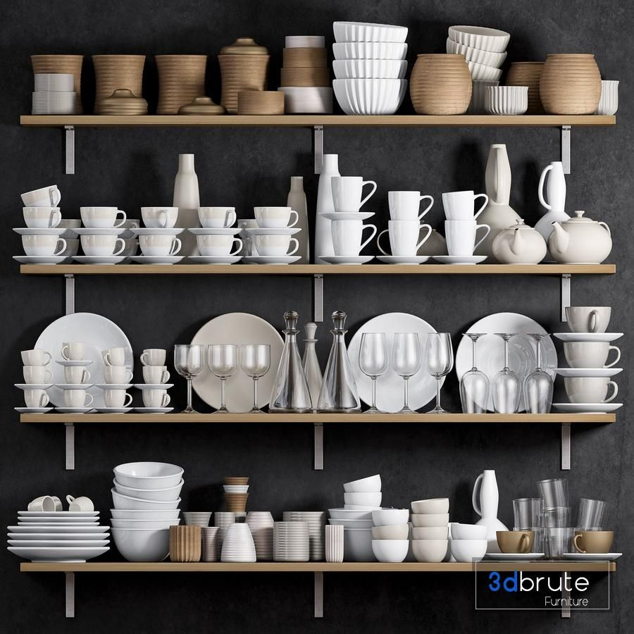 KITCHEN SHELF WITH UTENSILS trong 2020