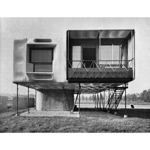 "Dome House Futuristic: Antonas: "" Polychroniadis: Dieter Schmid, Plastic House"