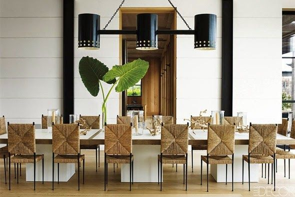 Chic dining room by timothy haynes and kevin roberts for Timothy haynes kevin roberts