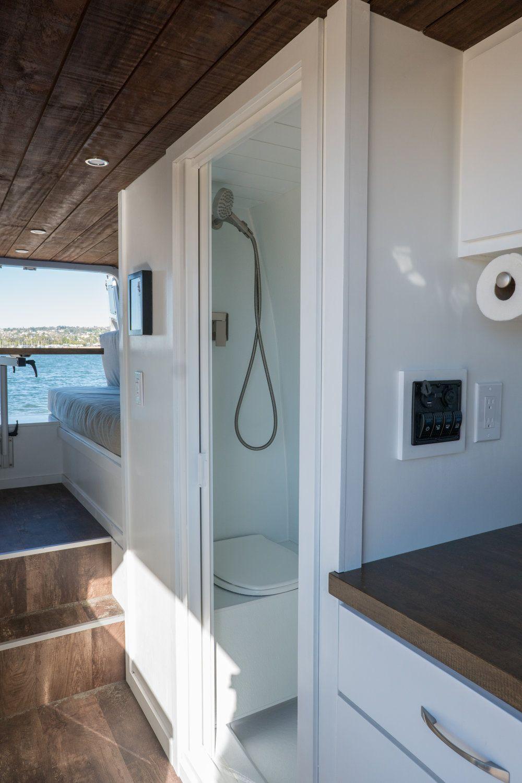 Photo of VAN TOUR   Sprinter 170″ Extended Van Conversion with Bathroom & Mini Garage — Sara & Alex James – 40 Hours of Freedom