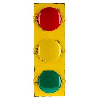Flashing Traffic Light Wall Decor Traffic light, Cave game and Game rooms