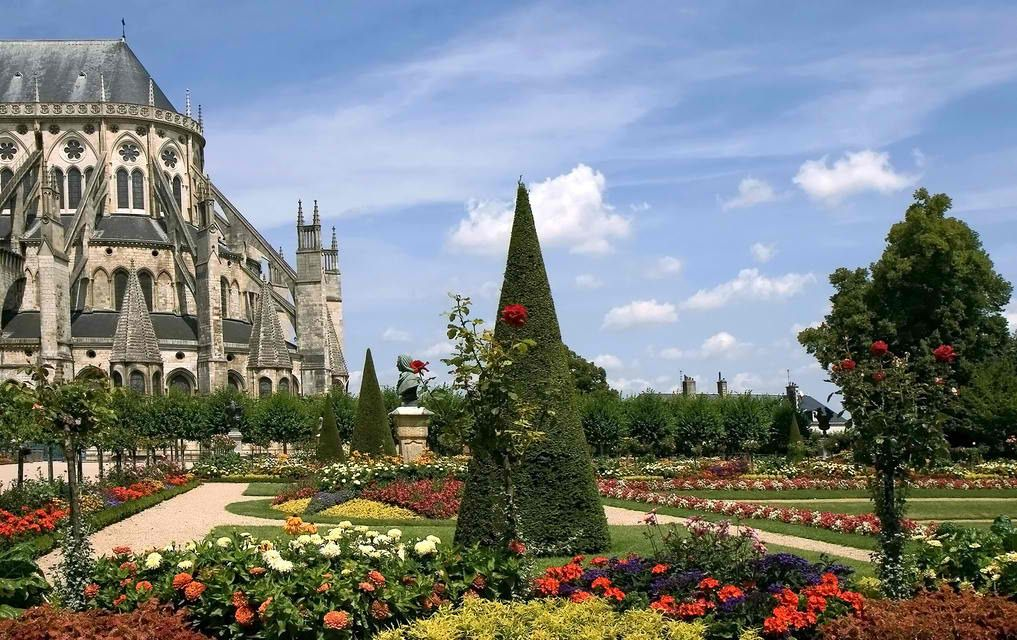 Bourges Cathedral-Routes of Santiago de Compostela in France