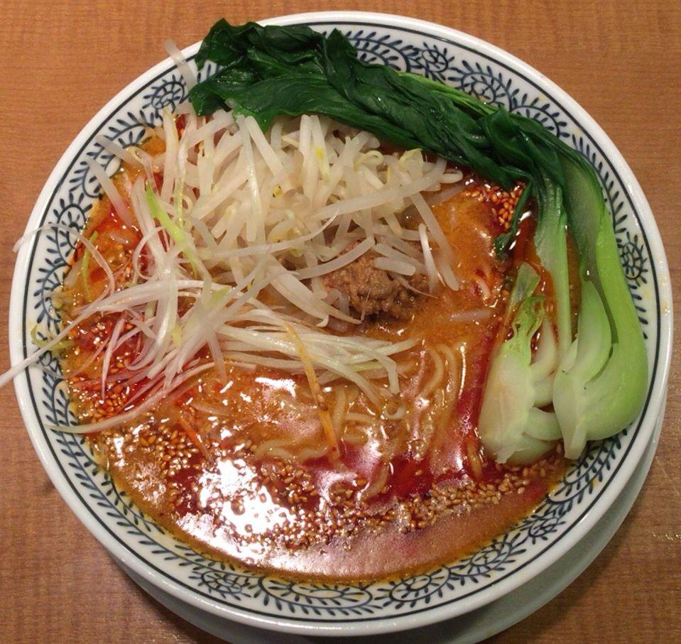 担々麺/丸源ラーメン