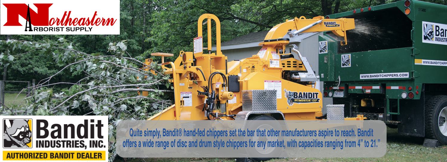We are the #1 Bandit Chipper Dealer in the Northeast, Stop by our