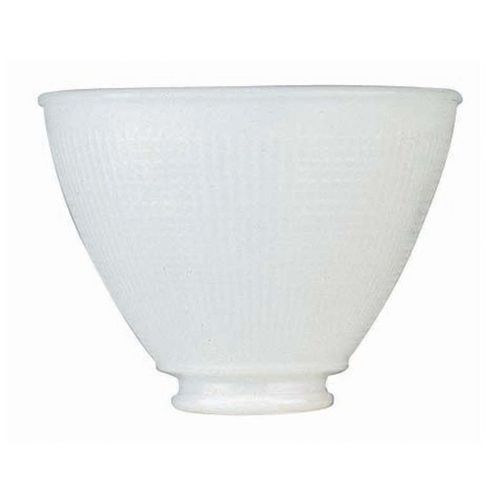 White i e s glass shade 2 1 4 inch fitter opening at destination lighting glass light