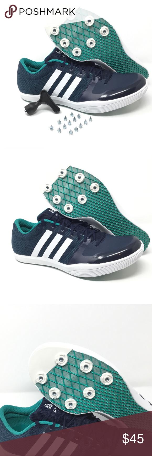 Adidas 2 Adizero LJ 2 Track & LJ Field Shoes Salto Adidas de longitud 6bfb41f - allergistofbrug.website