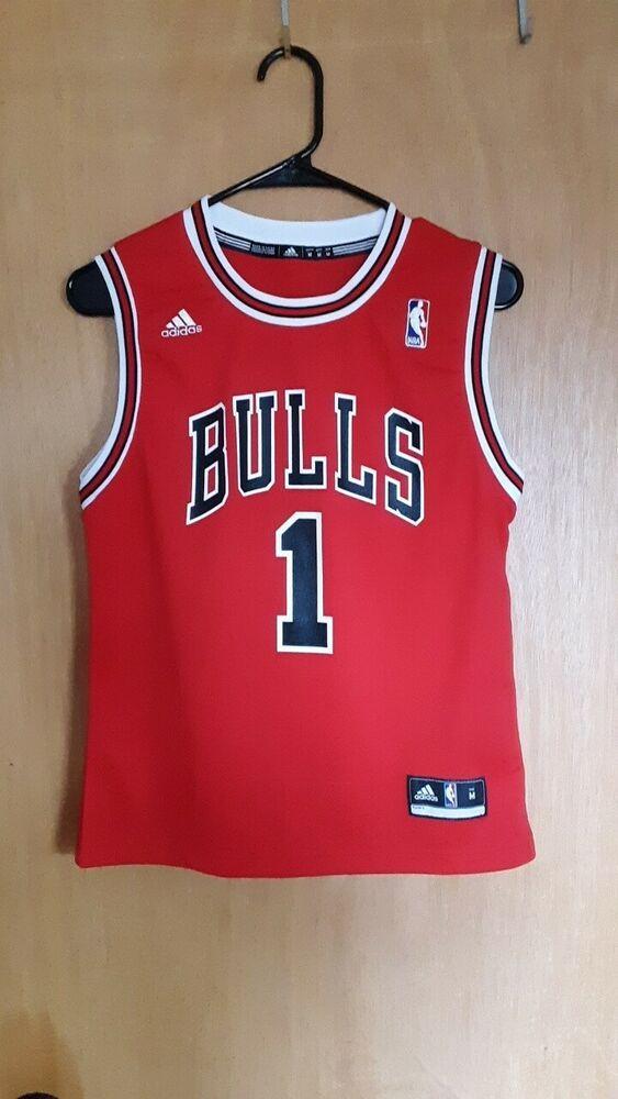 best service e182b 40629 Advertisement(eBay) Derrick Rose Adidas Bulls Jersey Medium ...