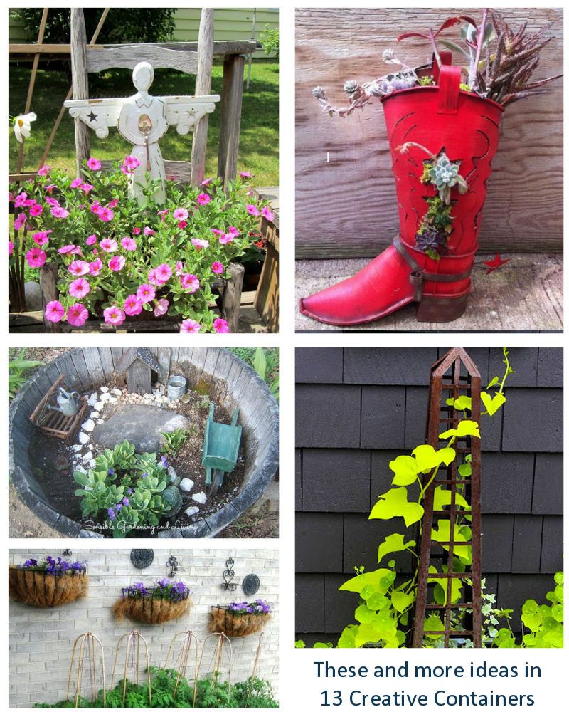 13 Garden Bloggers Share Creative Container And Planter 640 x 480