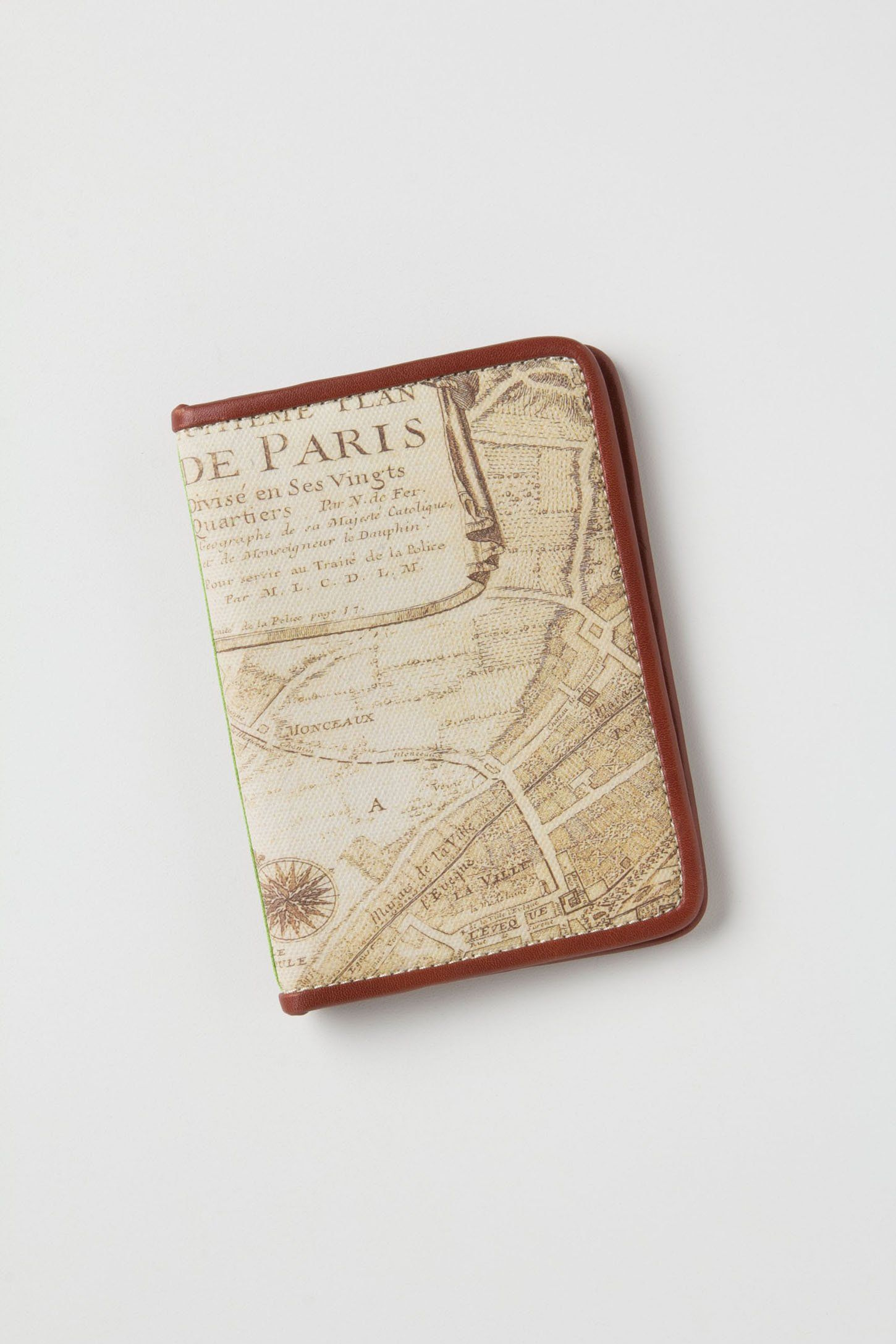 01361e2a6 Field Guide Map Passport Case. Available at Anthropologie.com.  gift  travel