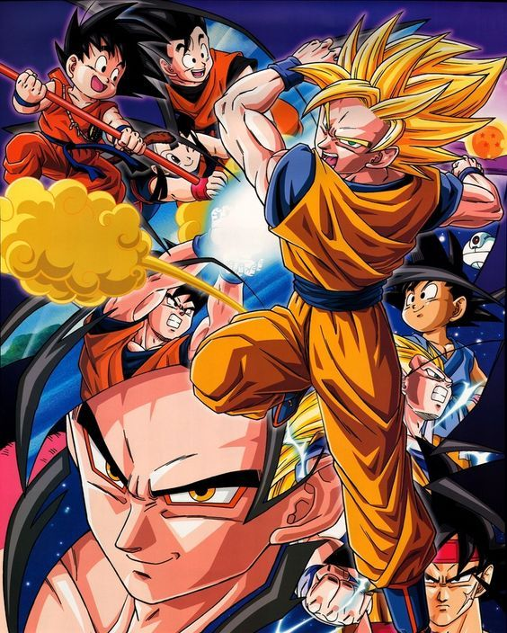 Dragon Ball Z /// Genres Action, Adventure, Comedy