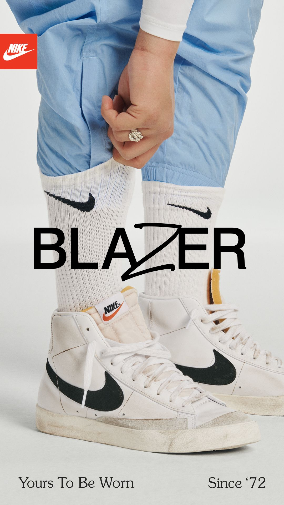 The Blazer's a Nike shoe - but it's made for you.