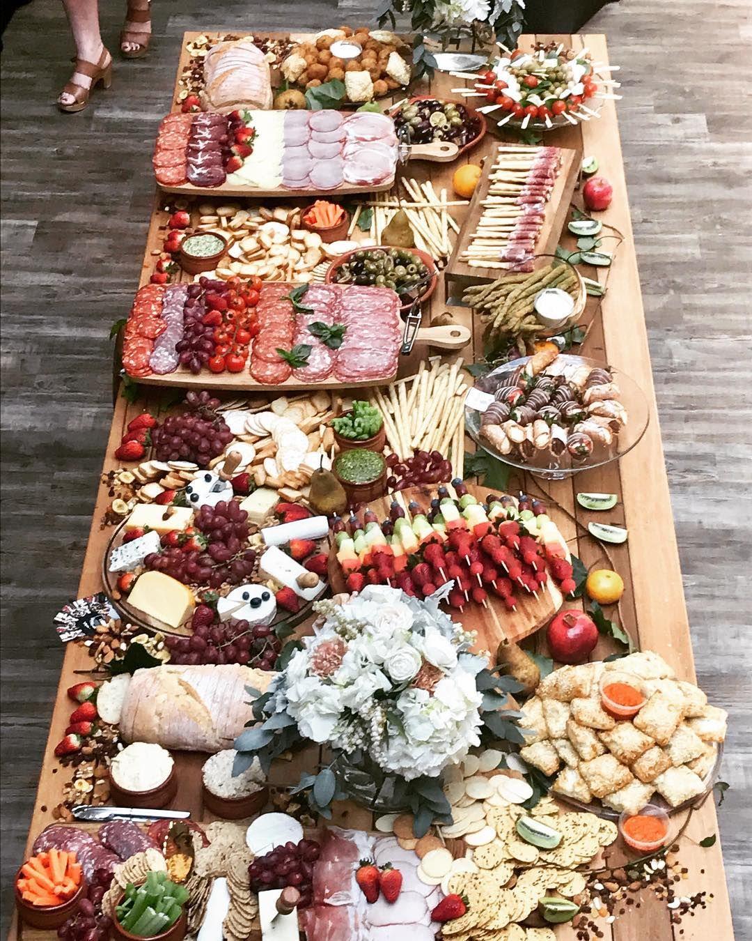 Grazing Station charcuterie board | Food platters, Charcuterie board