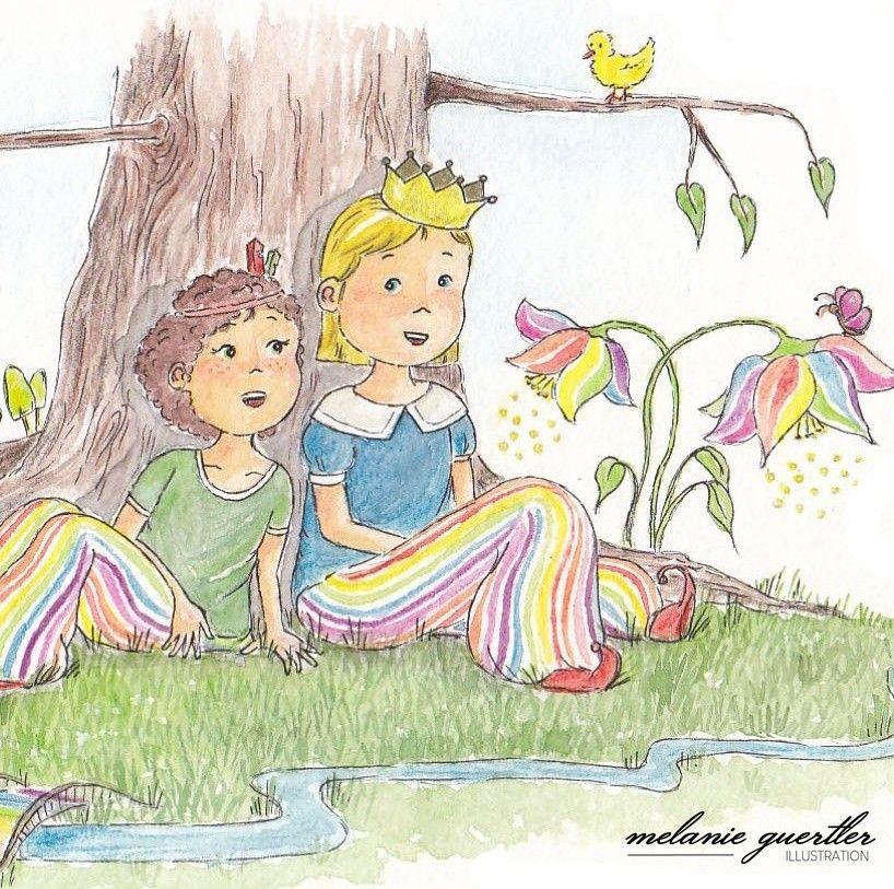 Illustration Aquarell Kinderbuch Melanie Gurtler Niedliche