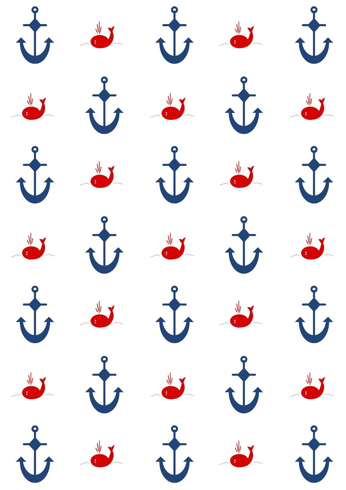 Yw scrapbook paper - Free Digital Nautical Scrapbooking Papers Ausdruckbares Geschenkpapier Freebie Meinlilapark Diy Printables And