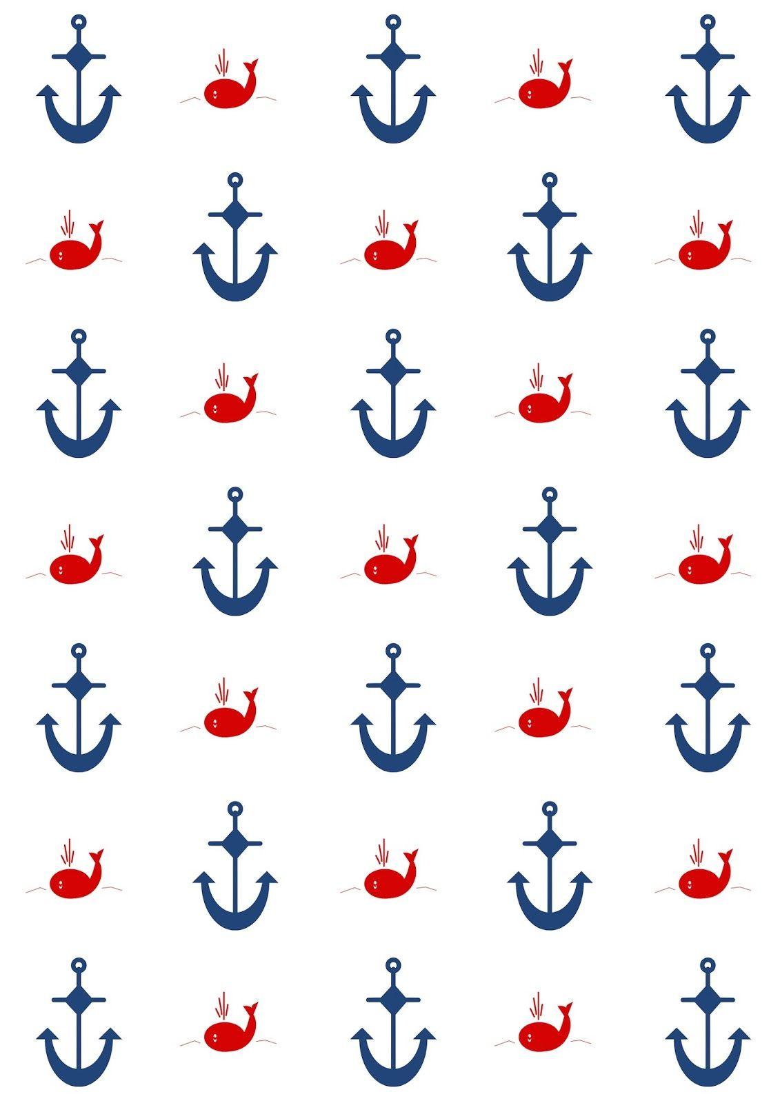 Meinlilapark Diy Printables And Downloads Free Digital Nautical Scrapbooking Papers