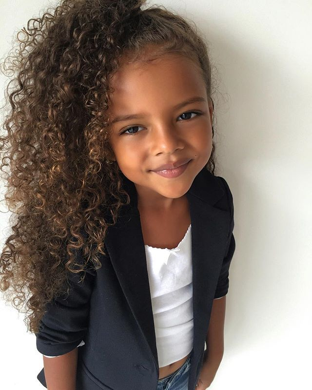 Kids Hairstyles Image By Vanessarenee On Little Cutie Curly