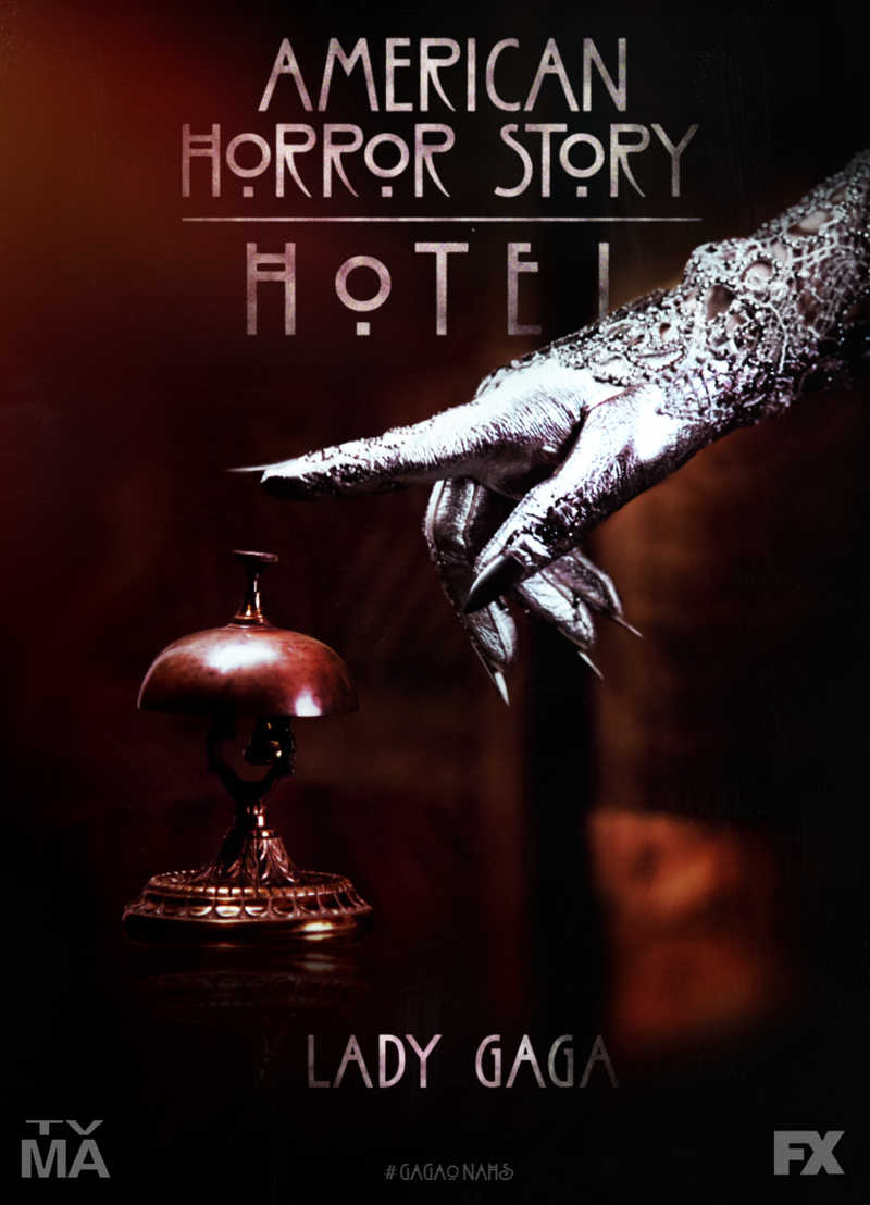 American Horror Story Hotel Lady Gaga Poster American Horror Story Hotel American Horror American Horror Story