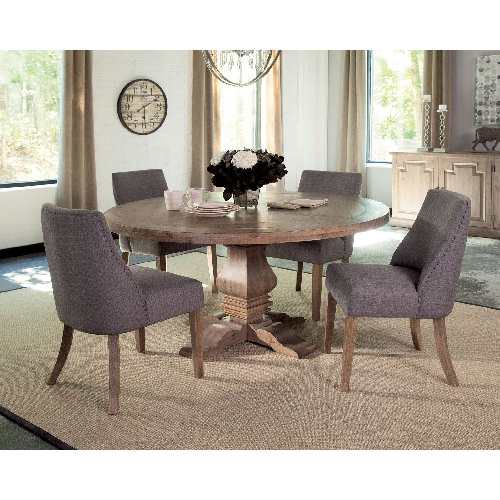 Coaster Furniture Florence 59 75 In Round Dining Table Round