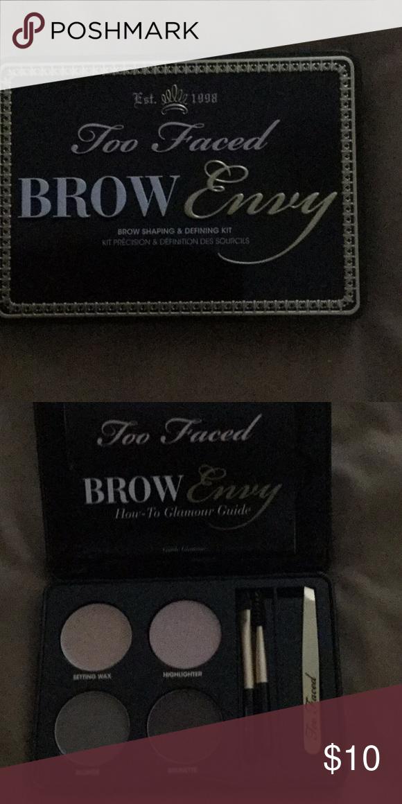 Too Faced Brow Kit The Posh Picks Brow Kit Accessories Fashion