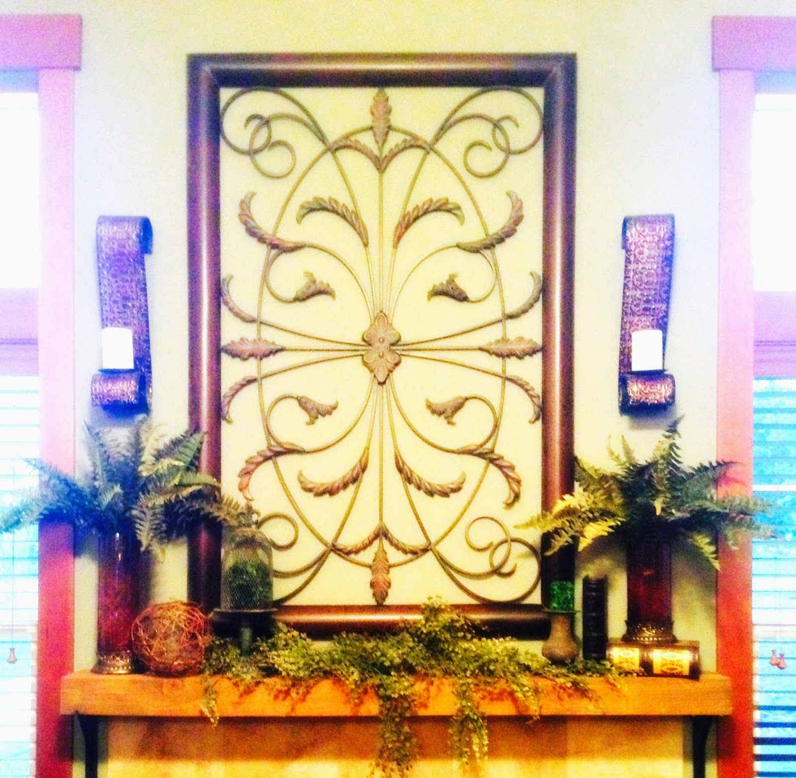 The Tuscan Home: Tuscan Mantle Revised And Home Theater - TEASER ...