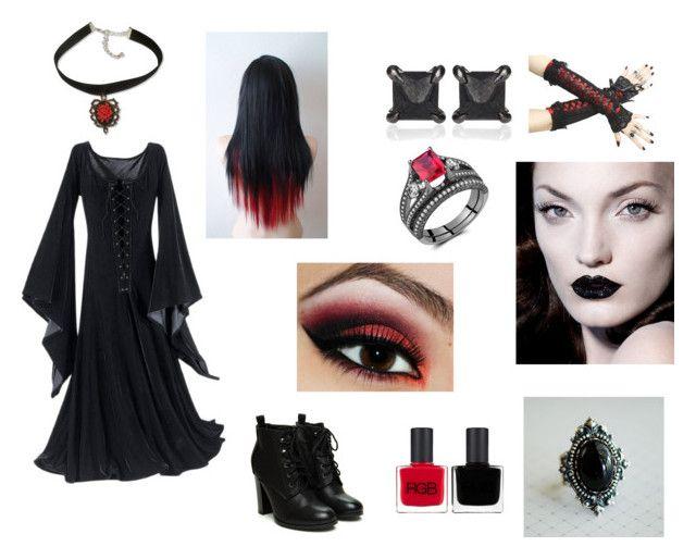 """""""Gothic"""" by mdclavette ❤ liked on Polyvore"""
