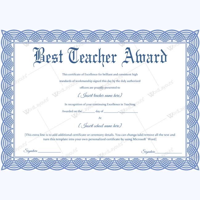 best teacher award 09 in 2020 teacher