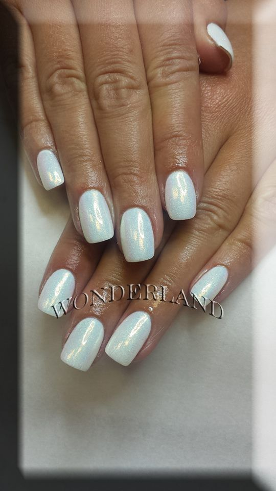 Ombre Gel Nails Wonderland Cardiff Nail Extensions Acrylic