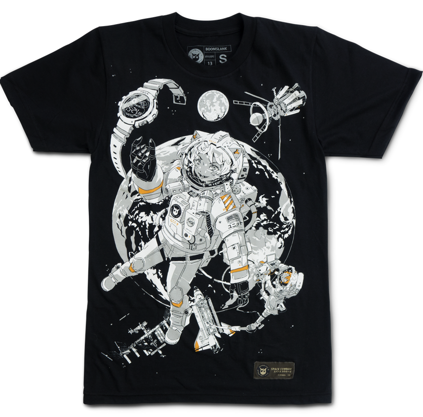 63182329f Space Cowboys, Graphic Tees, Shirt Designs, Anime Stuff, Graphic T Shirts