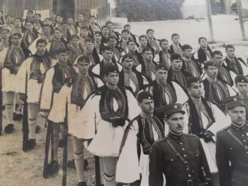 Details About Greece Old Photo Greek Presidential Guard