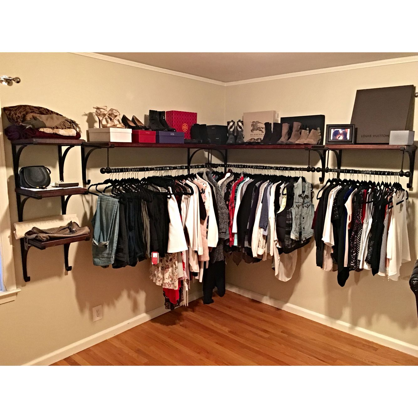 Pleasing Pottery Barn New York Closet Shelves For The Home In Home Interior And Landscaping Ologienasavecom