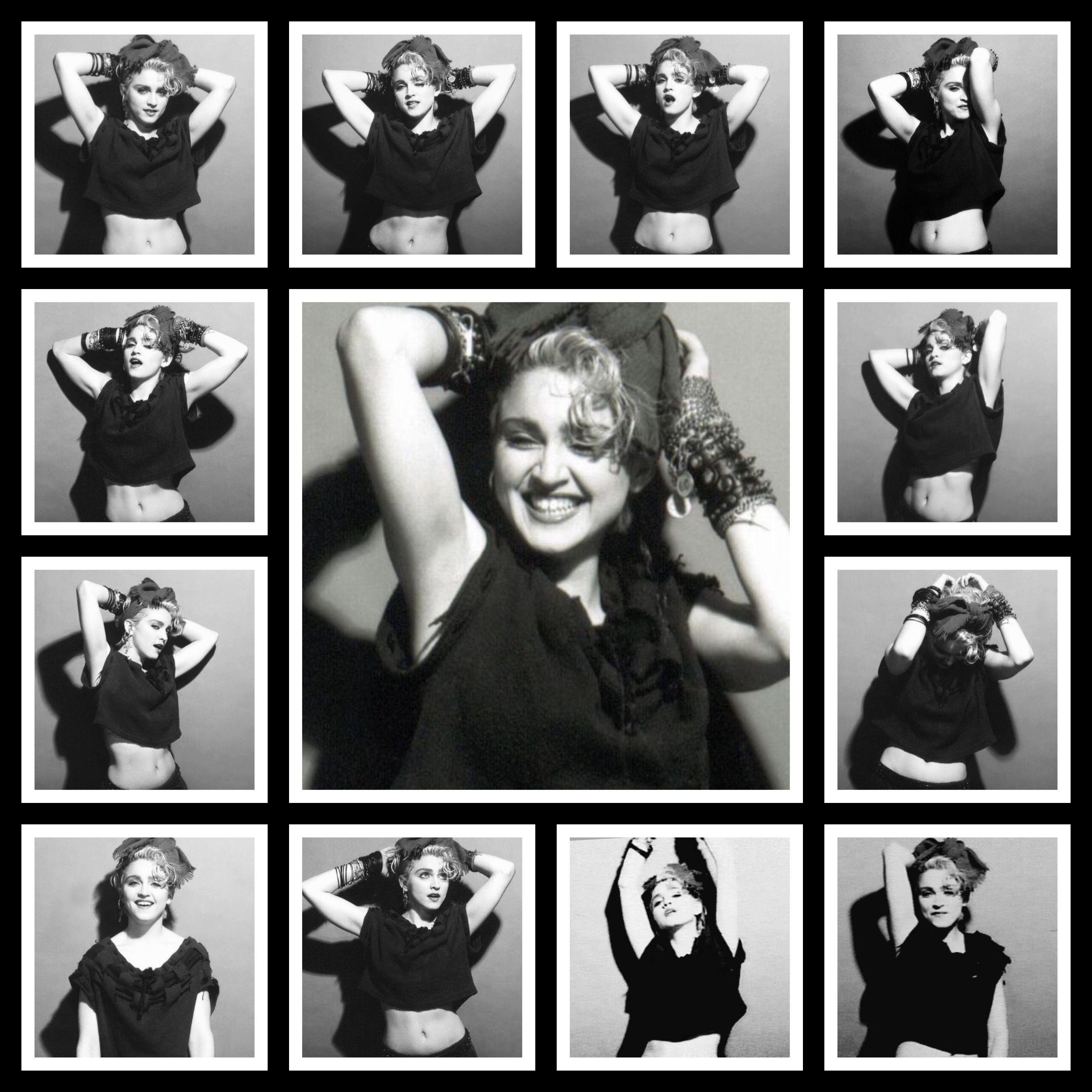 Madonna 1983 - Gary Heery -First album session
