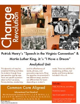 an analysis of patrick henrys speech in the virginia convention In patrick henry's speech to the virginia convention, henry uses many rhetorical questions  emotional appeals to patrick henrys speech in the.