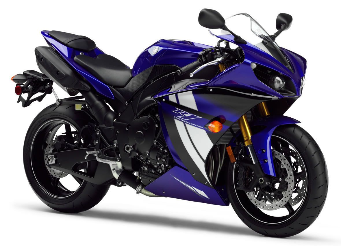 yamaha r1 blue bike - photo #15