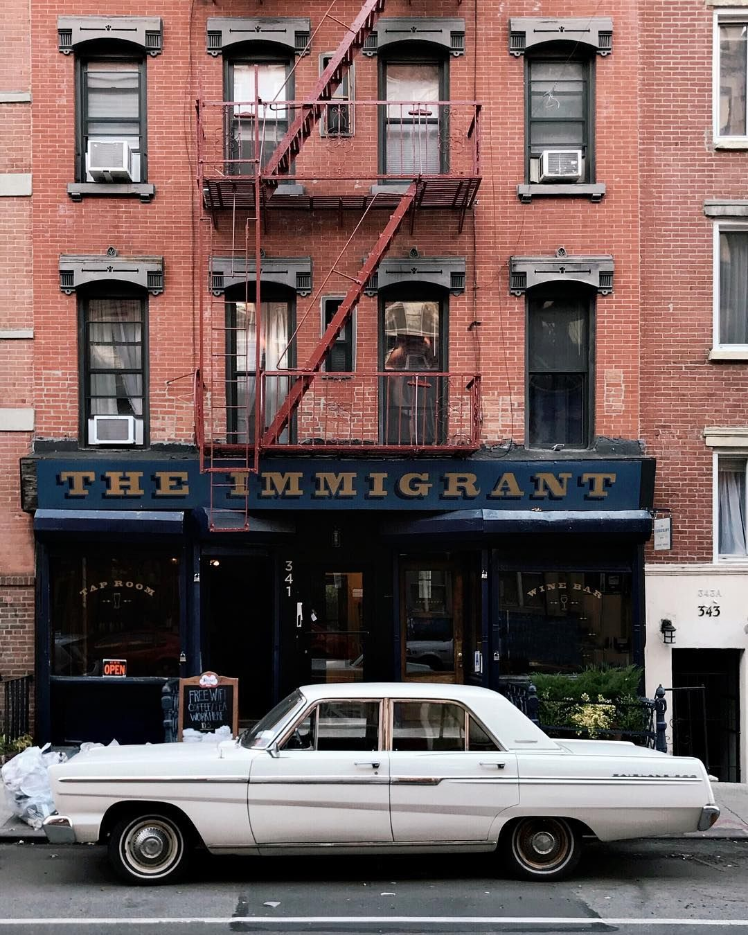 The Immigrant Nyc Tap Room Cool Cars Car