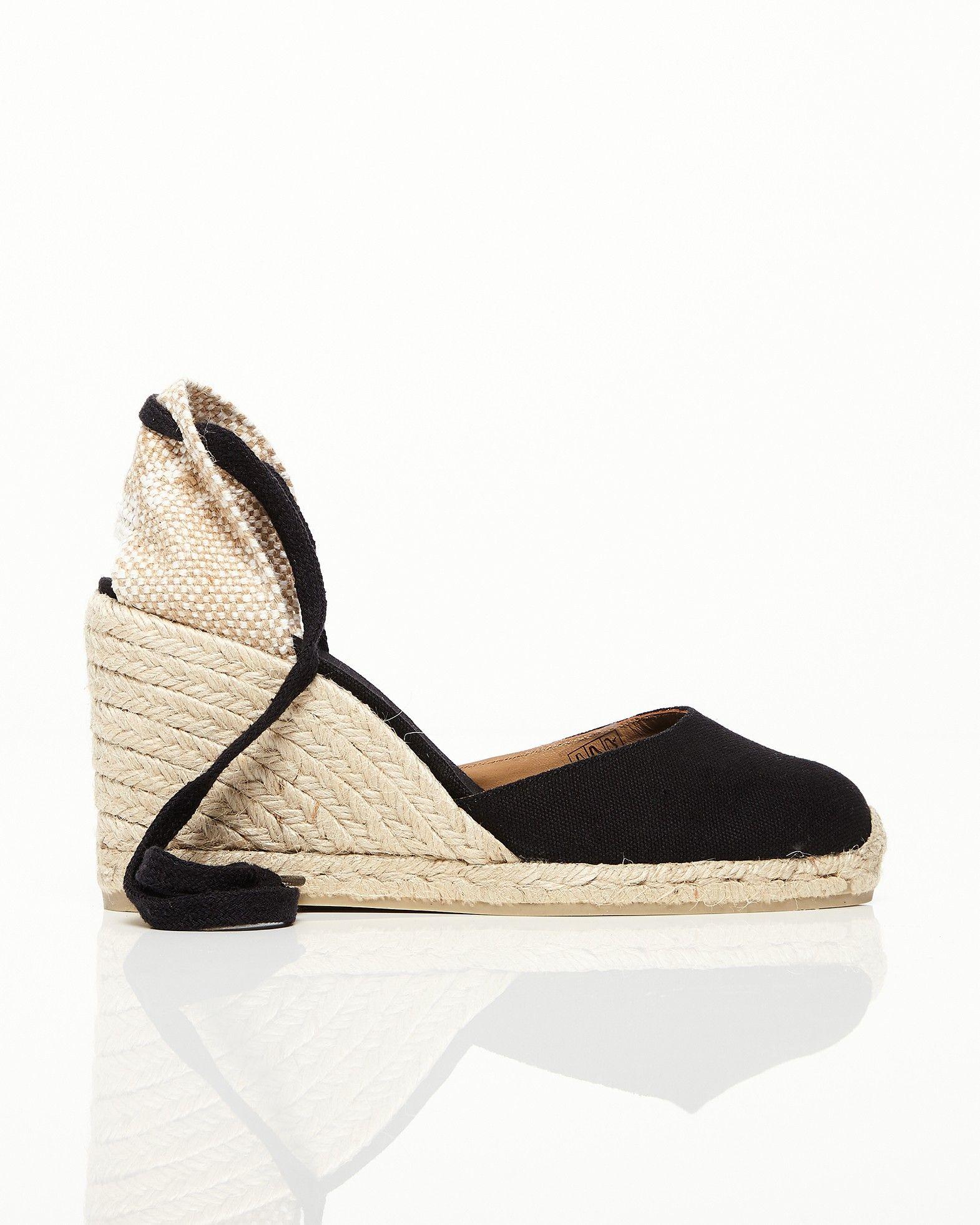sandaler med stängd tå