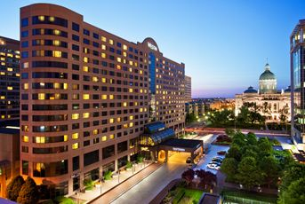 Connected To The Convention Center Experience A World Cl Indianapolis Hotel When You Book With Starwood At Westin