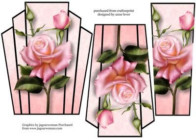 art Deco Stacker Topper Edwardian Roses on Craftsuprint - View Now!